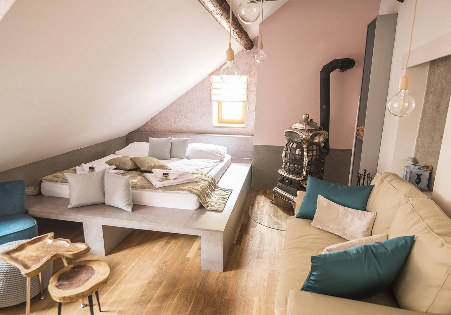 Dvoulůžkový pokoj – Romantický